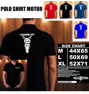 Polo Shirt Otomotif Motor HONDA CB 150 R FACELIFT SILUET TD/Kaos Kerah