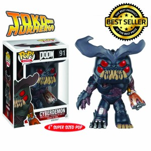 "Funko POP / Funko Doom: Cyberdemon 6"" ORIGINAL"
