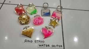 Ring stand Water Glitter - Besi