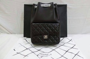Ransel Chanel Serut 20cm Mirror Quality