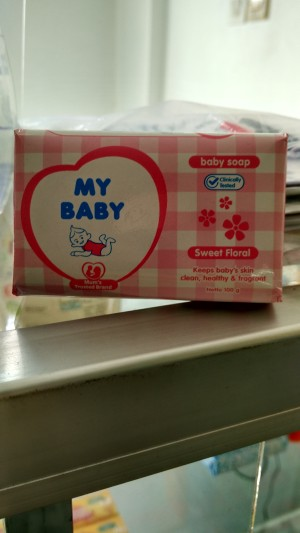 My Baby Soap 100 gram Sweet Floral ND
