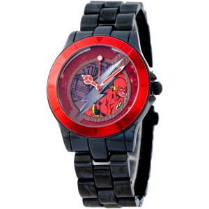 DC Comics DCFR1162-01C The Flash Red Jam Tangan Pria Stainless Steel