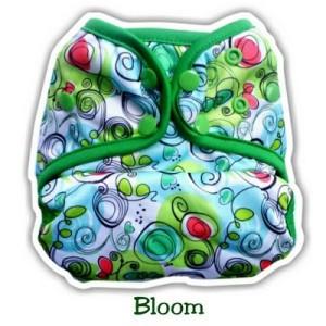 Clodi Ecobum Snap PUL Bloom + insert birdy