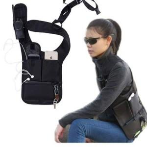 Tas Pria Tas Gadget Tas Hp Tactical Bag Pundak Anti Maling Hitam Ardan