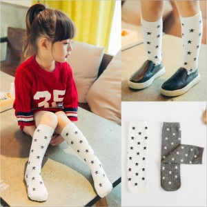 Kaos Kaki Korea Bintang/ Middle Socks Star