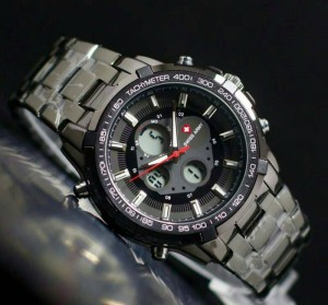 Swiss Army double time 3 black