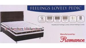Lovely Pedic (kasur 180x200cm) Feelings Romance Springbed