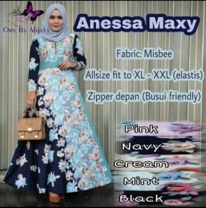 Long Dress Wanita Maxi Dress Muslim ANESSA MAXI