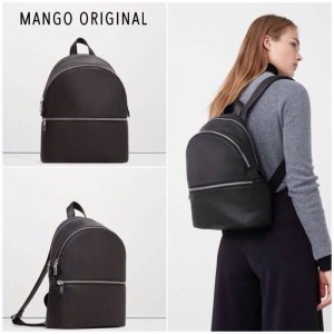 tas mango original backpack fashion black tas ransel