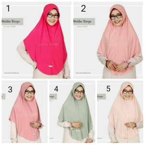Jilbab simpel by Malika