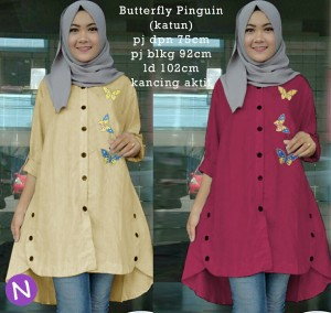 butterfly pinguin
