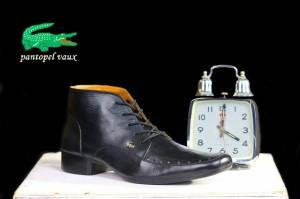 sepatu pantofel pria crocodile vaux kulit asli