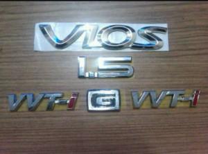 Paket Emblem Vios Tahun 2003-2005