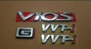 Paket Emblem Vios New Tahun 2007-2011