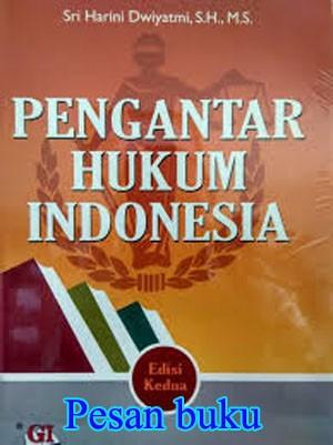 Buku Pengantar Hukum Indonesia