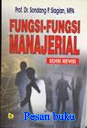 Buku Fungsi-Fungsi Manajerial (Edisi Revisi)