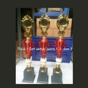 piala murah 1 pcs / trophy marmer / kejuaraan / souvenir