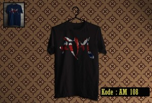 KAOS ARTIC MONKEYS TSHIRT GILDAN SOFTSTYLE AM 108