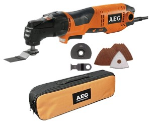 AEG Omni 300 Multi function tool Mesin Multi Cutter Oskilasi