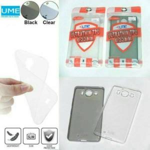 Oppo F3 Plus/R9S Plus Ume ultrafit Jelly Case 0.33M Original 100%