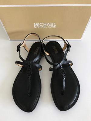 michael kors bethany black sandal size 6.5