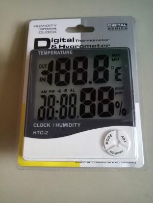 Termometer / Digital Thermometer Hygro / Humidity Temperature Clock