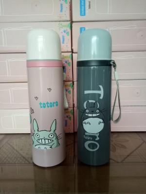 Termos Air 500 ml / Botol Minum 0,5 Liter Karakter Tororo