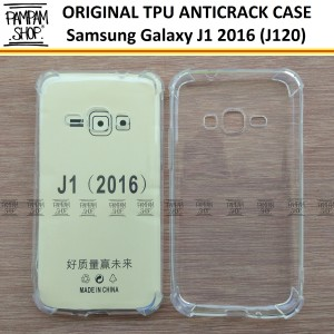 ... Case TPU Anti Crack Samsung Galaxy J1 2016 J120 Ultra Thin Anti Pecah
