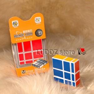 Rubik 3x3 MIRROR BLACK base GOLD Gloss sticker ORI Yong Jun 3X3X3.