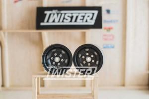 Gmade SR05 1.9 Stamped Steel Wheels - Matte Black