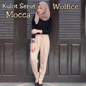 Celana Kulot Serut Model Kekinian/ Berkualitas/ Harga MUrah