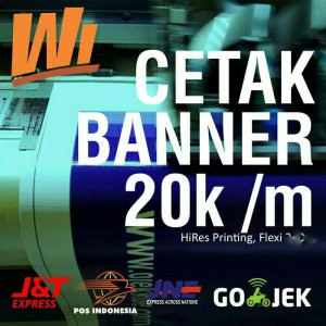 Cetak Banner HiRes 280gr