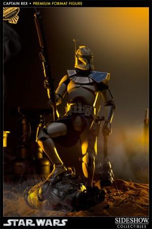 Sideshow Collectibles  Star Wars Captain Rex Premium Format EXCLUSIVE