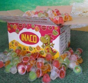 Inaco Mini Jelly 1kartob (10kg) Khusus Gojek