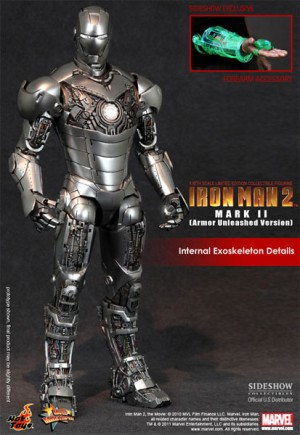 Hoy Toys 1/6 Iron Man MK 2 Armor Unleashed EXCLUSIVE