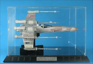 Code 3 Star Wars Luke Skywalker's X-Wing Starfighter Replica + Case