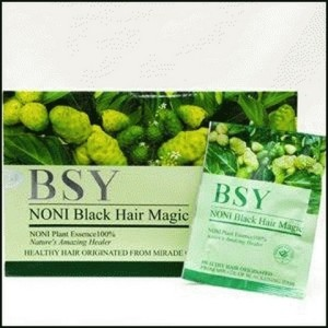 BSY NONI BLACK HAIR MAGIC SHAMPOO - 20pcs