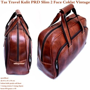 Tas Jinjing Travel Besar Kulit PRD 2 Face Slim