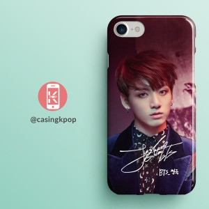 Casing Handphone KPOP BTS JUNGKOOK SIGNATURE
