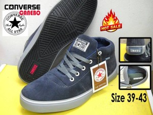 Sepatu Casual Boots Cowok Sneakers Converse Canebo