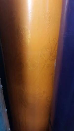 harga Fiber pagar orange fiber plastik penutup pintu pagar motif bunga Tokopedia.com