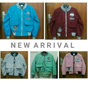 Yang Terbaru, bomber ladies canvas original