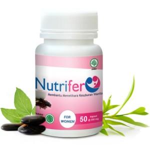 """""""NUTRIFER"""" Obat Herbal Meningkatkan Kesuburan Wanita"""