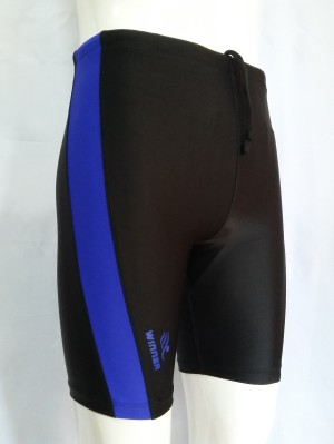 Celana renang ketat pendek pria bahan spandex lycra