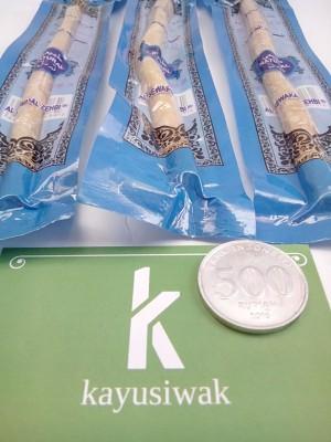 Kayu Siwak Al Zehbi ukuran Standar - Biru - Sikat Gigi Alami - Sewak