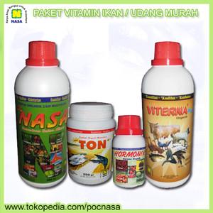 Paket Vitamin Perikanan Tambak Nasa Terlaris