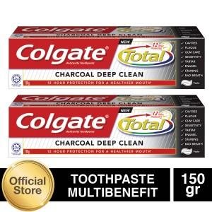Colgate Total Charcoal 150gr - 2pcs (As2-114822-6920354814785)