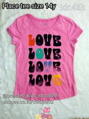 kaos anak perempuan kids girl childrens place branded