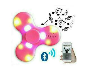 Fidget Fidgeting Spinner SPEAKER / BLUETOOTH NYALA LED TERBARU Murah