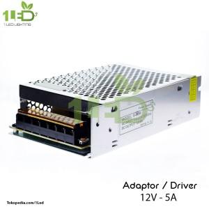 Power supply adaptor switching LED 12V 5A 12 V Volt 12 Volt 5 A Ampere